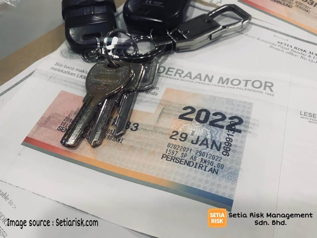 Road Tax di Malaysia