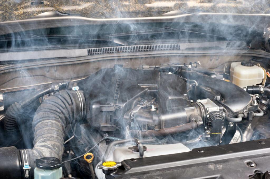 Enjin Kereta yang dipanaskan